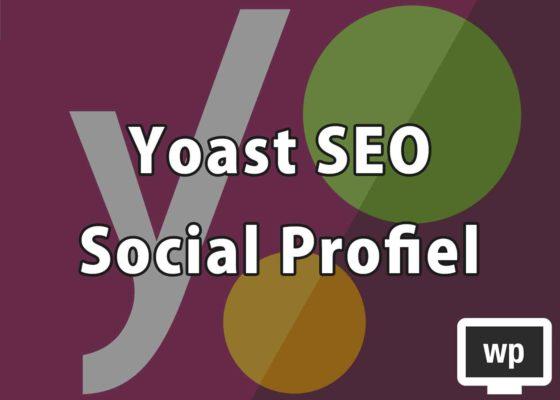 Lv.03 Yoast SEO – ソーシャルプロフィール